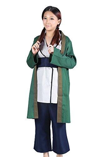SDWKIT Naruto shippuden Cosplay Costume Fifth Hokage Tsunade Kimono Set