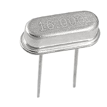 Uxcell 5x Crystal HC-49S Low Profile Oscillator, 16 MHz