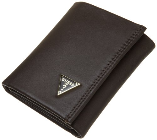 Guess Leather Credit Trifold Wallet
