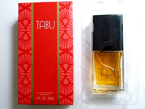 (Pack of 1) TABU By Dana Eau De Cologne Spray 1.0 oz Women's Fragrance, Brand New IN Box ()
