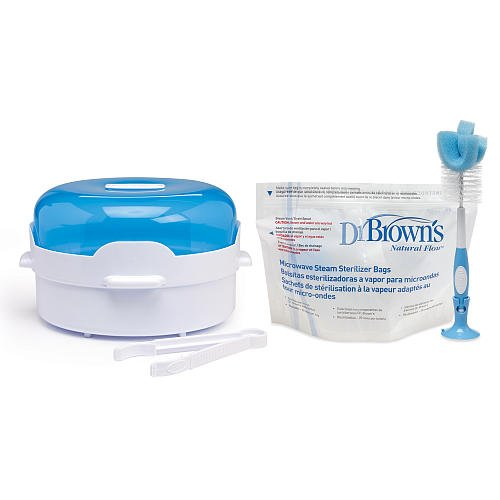 Amazon.com: Dr. Brown s Esterilizador para microondas Set: Baby