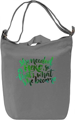 She Needed a Hero Borsa Giornaliera Canvas Canvas Day Bag| 100% Premium Cotton Canvas| DTG Printing|