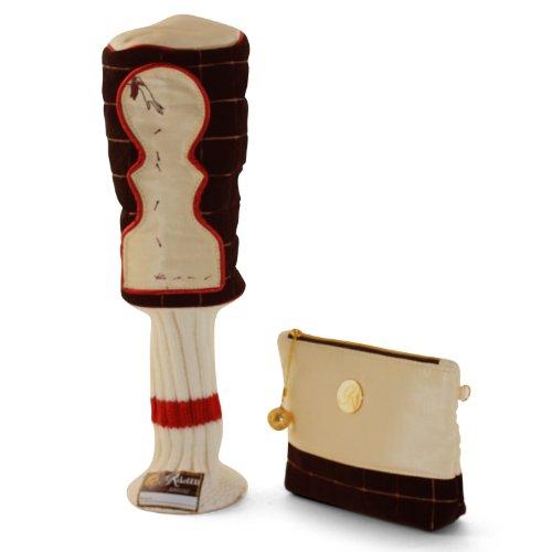 Kiki Golf Designer Zip Pouch - Limited Edition - Black - Collectibles - Ladies Gift