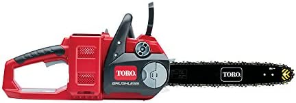 Toro PowerPlex 51880T Brushless 40V MAX Lithium Ion 14 Cordless Chainsaw, without Battery Charger