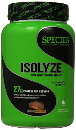 Cheap Species Nutrition Isolyze Peanut Butter Supplement, Chocolate, 1.55 Pound