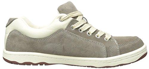 Enkla Mens Os91-1 Mode Sneaker Taupe Suede