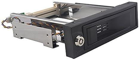Dshot® 5,25 Pulgadas sin Bandeja Hot Swap Estante móvil para Disco Duro de 3,5 – SATA Interno Backplane Caja: Amazon.es: Informática