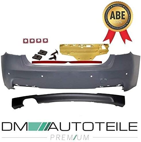 DM Autoteile Sport-Sto/ßstange Hinten f/ür PDC 2-Rohr Links passt f/ür F30 Serie /& M-Paket