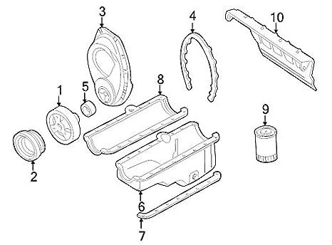 Amazon Com General Motors 10088158 Engine Crankshaft Seal Automotive