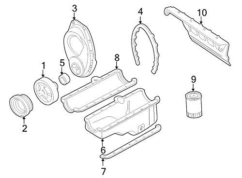 General Motors 10088158, Engine Crankshaft Seal