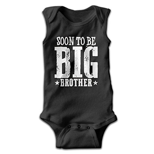 Sleeveless Brother - Unisex Fashion Soon to Be Big Brother Sleeveless Baby Bodysuits Newborn Baby Outfits Size 12 Months
