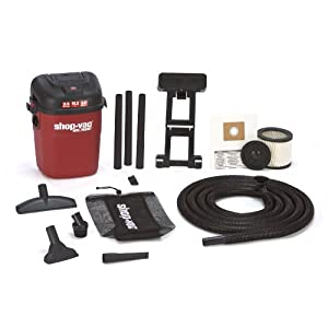 Shop-Vac 3940100 3.5-Gallon 3.0-Peak HP Wall Mount Wet/Dry Vacuum