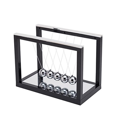 THY COLLECTIBLES Newtons Cradle Balance Balls With Mirror De