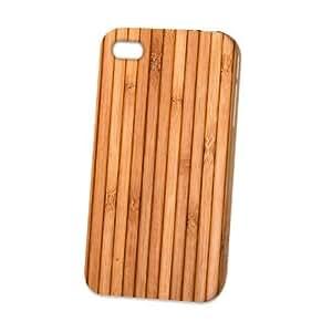 Case Fun Apple iPhone 4 / 4S Case - Vogue Version - 3D Full Wrap - Wooden Deck