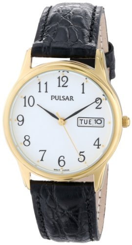 Pulsar Men's PXN080 Watch (Band Pulsar Watch Leather)