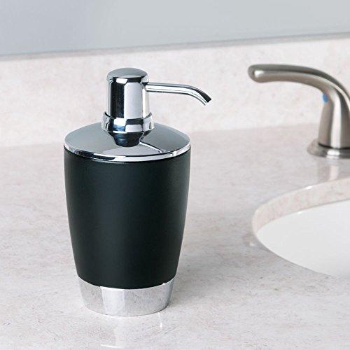 interdesign aria soap lotion dispenser for kitchen or bathroom countertops. Black Bedroom Furniture Sets. Home Design Ideas