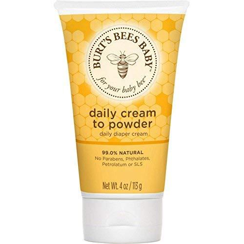 Burt's Bees Baby Daily Cream-To-Powder 4 oz (Pack of 6) by Burt's Bees