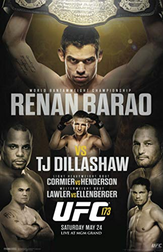 Pyramid America Official UFC Renan Barao vs TJ Dillashaw for sale  Delivered anywhere in USA