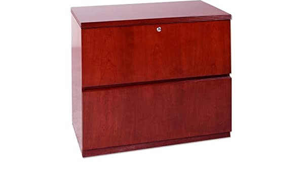 Amazon.com : Mayline LF23620 Wood Lateral File Cabinet Maple : Office Products