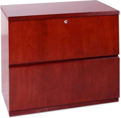 Mayline LF23620 Wood Lateral File Cabinet Maple