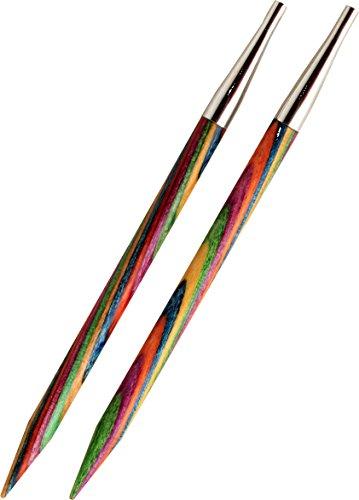 KnitPro 20415 wechselbare Nadelspitzen Symfonie Holz lang, 3,00 mm