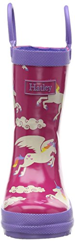 Rainboots Unicorns and Rainbows Hatley Pink Girls' aR5qc0xwwf
