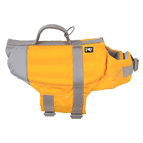 Hurtta Life Savior, Dog Life Vest/Jacket, Orange, 40-80lb
