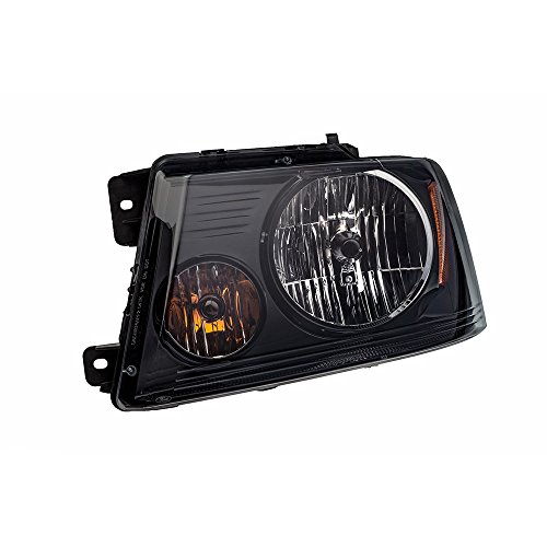 2004-2008 Ford F-150 Harley Davidson LH Driver Side Black Headlight OEM NEW 7L3Z-13008-HA