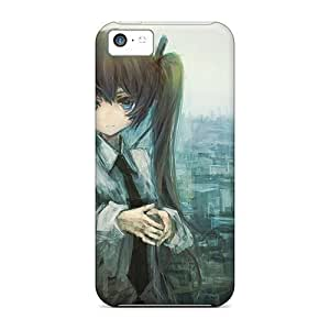 High Quality Shock Absorbing Case for ipod Touch 4 -hatsune Miku Tie Paint Buildings Twin Tails Shirt