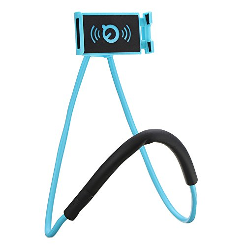 Cell Phone Holder Lazy Mobile Phone Mount Stand Universal Lazy Bracket Hanging On Neck DIY Free Rotating for Multiple Functions