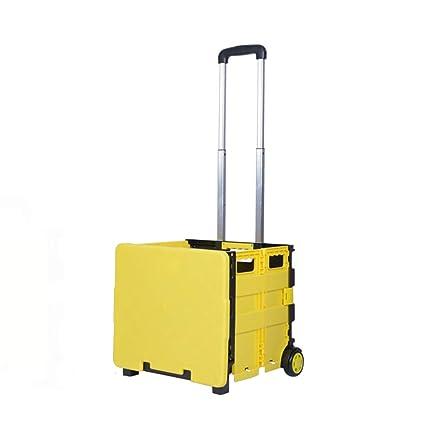 f6877d6887e4 Amazon.com: JiaHome Shopping Trolleys Shopping cartHousehold ...