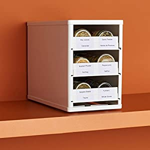YouCopia Chef's Edition SpiceStack Spice Organizer with Universal Drawers