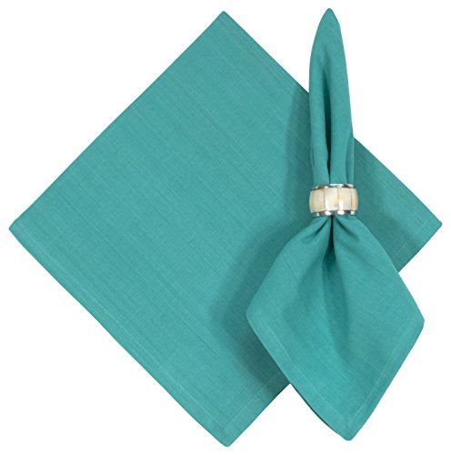 100% Cotton Solid Aqua Blue 22