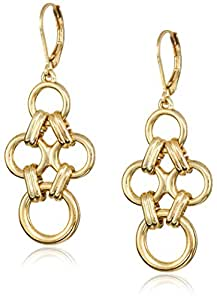 """Amazon.com: Anne Klein """"Metal Meaning"""" Gold-Tone Open ..."""
