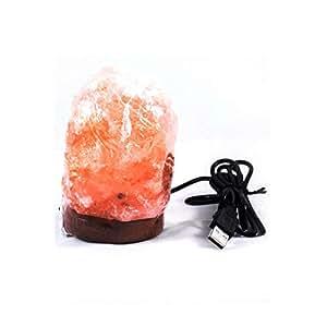 Natural Shape Himalayan Salt Lamp USB Type