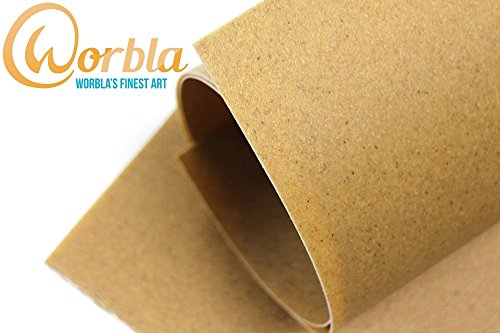 Worblas Finest Art Sheet Size L (39x29 Inch Sheet) Thermoplastic Material for Cosplay and (Worbla Costumes)