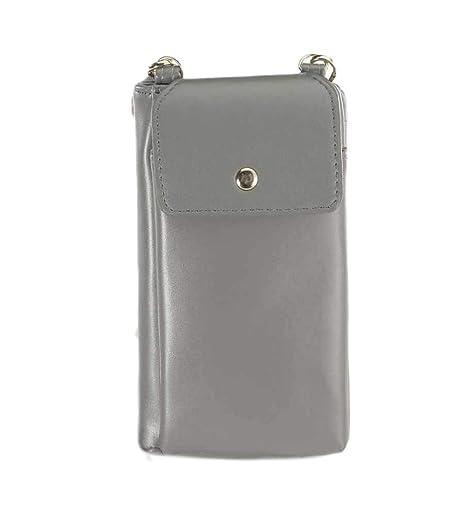 241ebabac9 Diyafas Vintage Donna Piccola Borsa a Tracolla per Cellulare Pochette Borse  a Spalla Portafoglio Porta Carte