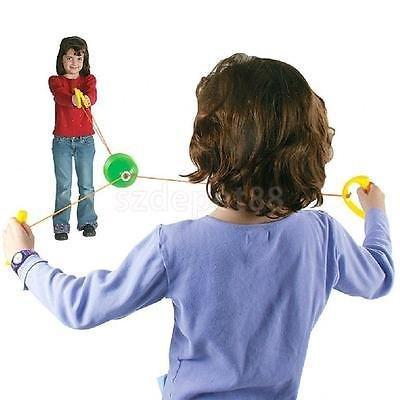 VIPASNAM-KIDS CHILDREN 2 PLAYER SPEED BALL JUMBO PULL DRAW GRIP TOY FUN GAMES OUTDOOR