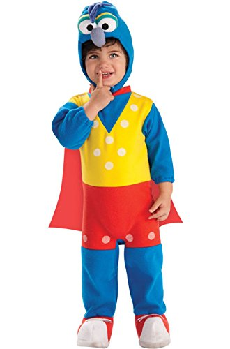 Mememall Fashion Official License The Muppets Gonzo Infant/Toddler Costume (Cheers And Beers Costume)