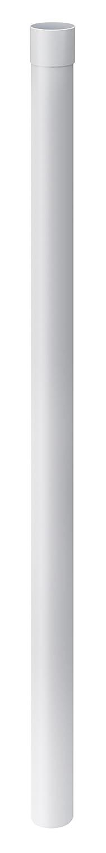 Regenrinne 200 cm Wei/ß Kunststoff Dachrinne INEFA Regenfallrohr DN 100