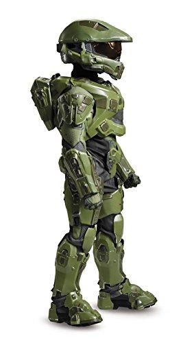 41buS3f3k0L - Master Chief Ultra Prestige Halo Microsoft Costume, Large/10-12