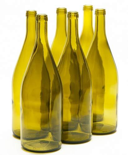 1.5 Liter Magnum Burgundy Wine Bottles Dead Leaf (6/case)