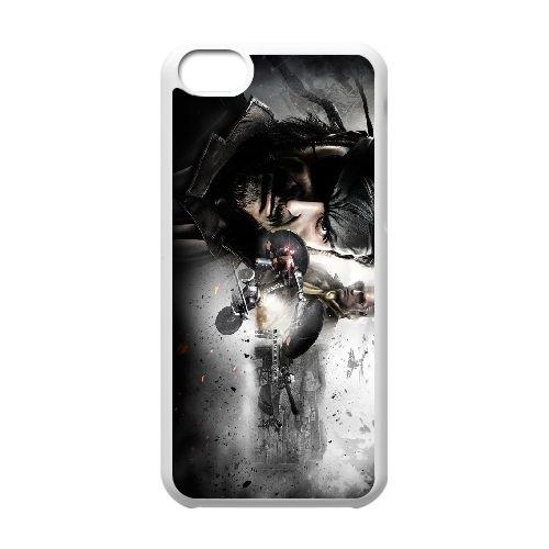 Metal gear P8M82 fils solides de la liberté D0Y7GK coque iPhone 5c cellulaire cas de téléphone couvercle coque blanche DI3GVE9SQ