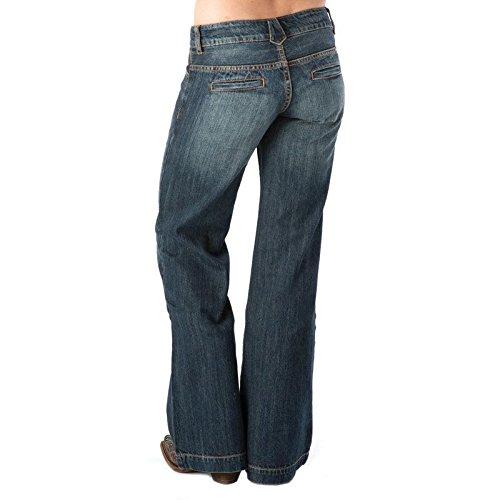 Stetson Women's 214 Fit City Trouser Jeans Denim 12 L