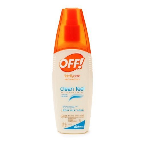 Off Familycare Insect Repellent Clean Feel 6 Oz  2 Pack