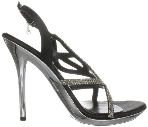 Unze Sandales Noir l18844w Femme Evening Sandals YAnFrYT
