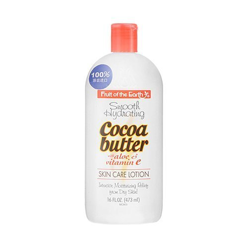 Fruit of the Earth Cocoa Butter with Aloe Lotion, 16 Ounce