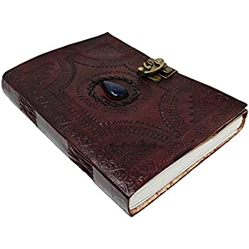 Amazon Com Large Leather Journal Celtic Book Of Shadows
