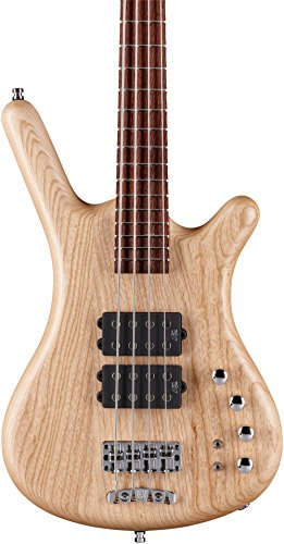 Warwick German Pro Series Corvette $$ 4-String Electric Bass Guitar Natural Satin