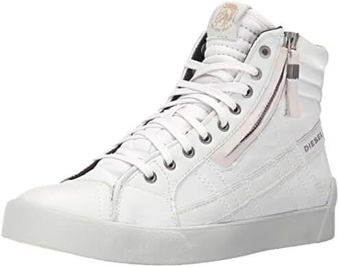 Diesel Men's D-Velows D-String Plus Fashion Sneaker, White, 9.5 M US